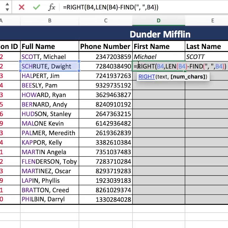 Bloomington Tutors   Blog   K20   GP20   Text Functions   LEFT ...